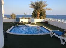 فيلا لقضاء اجمل الإجازات بشرم الشيخ علي البحر مباشرة أمام جزيرة تيران مباشرة