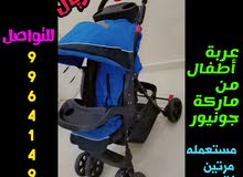 عربة أطفال ب35ر مستعمله مرتين فقط
