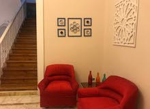 villa in EL-Maadi with garden and pool for rent