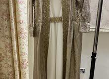 فستان او بشت من 3 قطع يديد