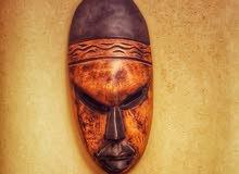قناع أفريقي اصلي من دولة غانا