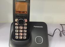 تلفون ارضي لاسلكي باناسونيك panasonic شامل