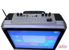 مكبر صوتى FEEL MAX بشاشة مدمجة اندوريد يعمل بالواي