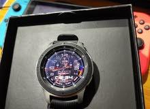 ساعة سامسونج Gakaxy Watch حجم 46 لون سلفر استخدام قليل للبيع مكاني نجف