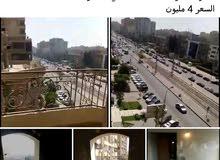 شقة للبيع  في شارع  الحجاز مصر الجديدة 330م