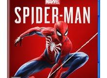 للبيع شريط SPIDER MAN (PS4)