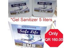 Hand Sanitizer 5 Liters (FREE DELIVERY)