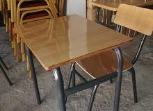 طاولات وكراسي مدرسية بسعر معقول