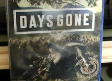 Days gone game new region all for ps4