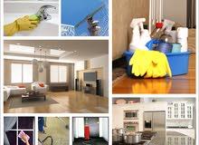 تنظيف منازل وشقق خدمات تنظيف سريعة وغسل كل المفروشات
