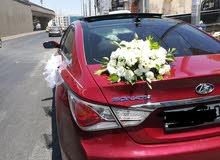 سيارة هونداي سوناتا 2013 بحالة جيدة جدا ومميزة لون مميز فل الفل