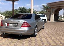 للبيع S500 مديل 2001
