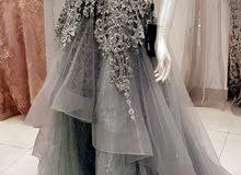 فستان سهرة ملبوس مرة بس