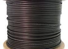Fiber Optic Indoor/outdoor Cable 12 Core كابل الياف بصرية
