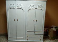 خزانة أربع درفات خشب زان ولاتية بسعر مغري