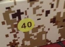 بوتيل عسكري جديد مقاس 40