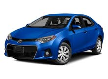 Automatic Blue Toyota 2017 for rent