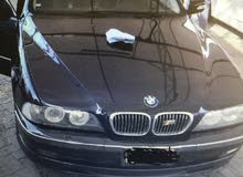 Blue BMW 528 2001 for sale