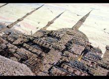 Embroidered cross stitch  Sultanahmet mosque ( Turkey, Istambul), handmade