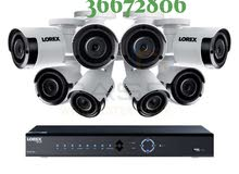hik vision CCTV camera new fixcen dvr full HD and hardix 1tv and all fixcen