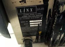 ماكنة طباعة printer code  للبيع بحاله جيده