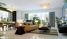 فيلا فندقيه للبيع في دبي لاند 4 غرف مفروشه على طابقين