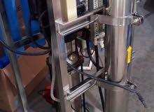 مكينة تحلية انتاج   8000 لتر في اليوم اصلية مضخة عمودية  1