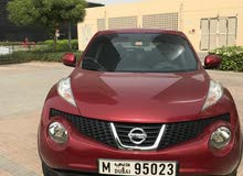 Juke 2013 red with full agency maintanace history lady driven