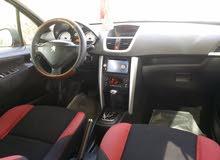 سياره للبيع بيجو طراز 207 موديل 2012 لوحه مميزه فحجديد استماره جديد  جاهزه للنقل