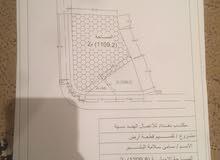 قطعة أرض سكنية داخل المخطط