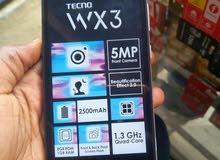 موبايل tecno wx3 للبيع او للبدل باقل منه ودفع فرق