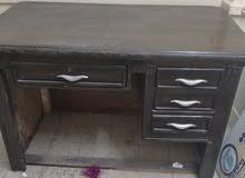 مكتب رئيسي الحاله جيده جدا خشب كونتر الألواح شاسيه قوام 5فى 5سم