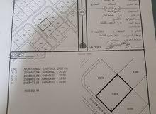ارض سكنية العامرات مدينة النهضة الامتداد رقم القطعة 6349 المنطقة بها منازل قائمة