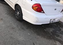 White Kia Spectra 2004 for sale