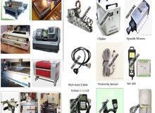 CNC Router, laser, plasma, water jet Maintenance and retrofitting services
