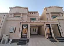 فيلا حي طيبة درج صالة وشقة مؤسس شقه350م