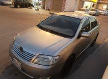 للبيع سيارة تايوتا كورلا موديل 2005 ثاني مالك