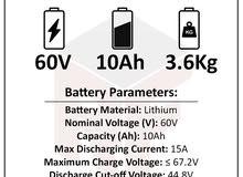بطاريات ليثيوم أيون 60 فولت