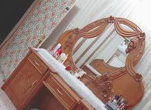 غرفة نوم تفصال خشب