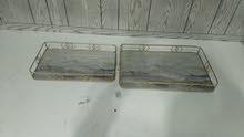Golden tray set