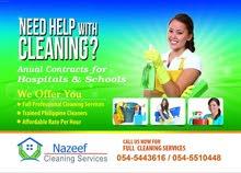 we need filipna ladies work as Cleaner