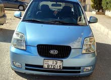 Blue Kia Picanto 2007 for rent