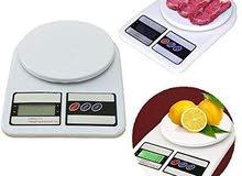 ميزان مطبخ الكتروني حساس مع جاط  لحد 5 كيلو