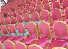 Red chairs for sale excellent quality for simple numbers 2 dinars and quantities