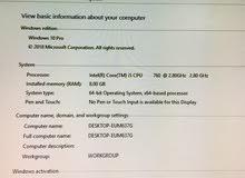 Asus Desktop compter is up for sale