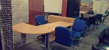 مكتب مدير مع 3 كراسي تركي