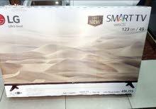للبيع باقل من سعر التكلفة شاشة 49 LG 2017 SMART