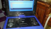 جهاز DVD ابو الشاشة حجم 12 انج ابو الفلاش والرام وتلفزيون وعارض ستلايت  AV ورادي