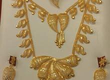 ووووووصل  بديل الذهب طقم هندية مطلية بماءالذهب