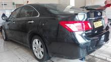 Black Lexus ES 2007 for sale